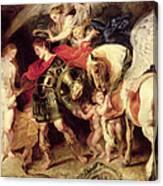 Perseus Liberating Andromeda Canvas Print