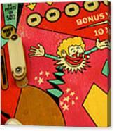 Pinball Machine Canvas Print