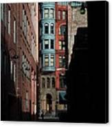 Pioneer Square Alleyway Canvas Print