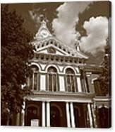 Pontiac Illinois - Courthouse Canvas Print