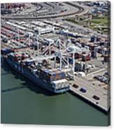 Port Of Oakland, Oakland Canvas Print