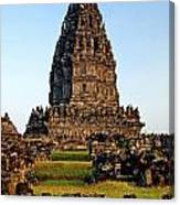 Prambanan Temple In Indonesia  Canvas Print