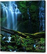 Proxy Falls Oregon Canvas Print