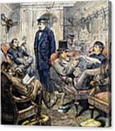 Pullman Car, 1876 Canvas Print