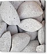 Pumice Lava Rocks Canvas Print