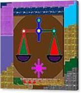 Pure Decorations Zodiac Symbol Art Canvas Print