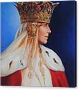 Queen Marie Of Romania Canvas Print