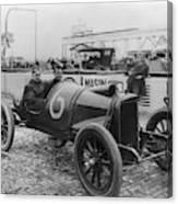 Racecar Drivers, C1913 Canvas Print