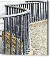 Railings Canvas Print