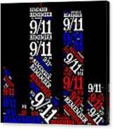 Remember 9-11 Canvas Print