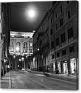 Roma By Night Canvas Print