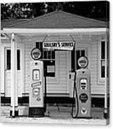 Route 66 - Soulsby Station Pumps Canvas Print