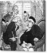 Rowlandson: Quack Doctor Canvas Print