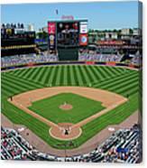 San Francisco Giants V Atlanta Braves Canvas Print