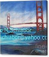 San Francisco Golden Gate Bridge Canvas Print
