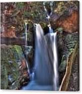 Scotish Waterfall Hdr Canvas Print