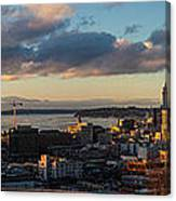 Seattle Dusk Canvas Print