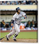 Seattle Mariners V Oakland Athletics Canvas Print
