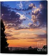 September Mountain Sunrise Canvas Print