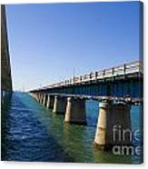 Seven Mile Bridge Florida Keys Canvas Print