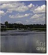 Sweet Balmy Breeze On Shem Creek Canvas Print