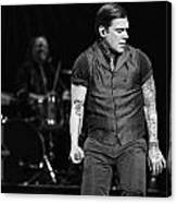 Shinedown  Brent Smith Canvas Print