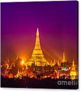 Shwedagon Paya - Yangoon Canvas Print