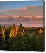Signal Mountain Sunrise Canvas Print