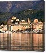 St Florent In Corsica Canvas Print