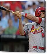 St. Louis Cardinals V Kansas City Royals 3 Canvas Print