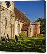 St Marys Church Kintbury Canvas Print