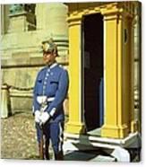 Stockholm Guard Change Canvas Print