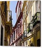 Streets Of Seville - Magic Colours Canvas Print