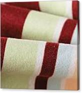 Striped Material Canvas Print