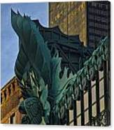 3 Styles Of Architecture Telephoto Canvas Print