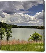 3-summer Time At Moraine View State Park Canvas Print