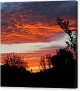 Sunset New Zealand Canvas Print