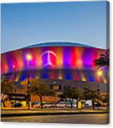 Superdome Canvas Print