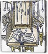 Surgical Instruments Canvas Print