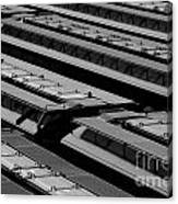 Switch Yard For Box Cars Canvas Print