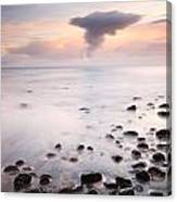 Talisker bay Sunset Canvas Print