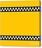 Taxi Background Canvas Print