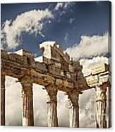 Temple Of Apollo Canvas Print
