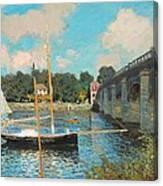 The Bridge At Argenteuil Canvas Print