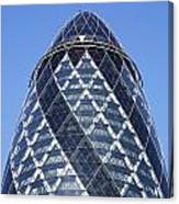 The Gherkin Building In London England Canvas Print