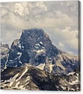 The Grand Tetons Canvas Print