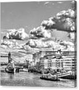 The River Thames Canvas Print