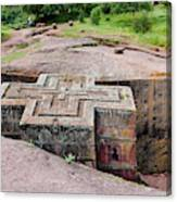 The Rock-hewn Churches Of Lalibela Canvas Print