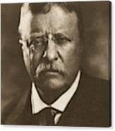 Theodore Roosevelt (1858-1919) Canvas Print