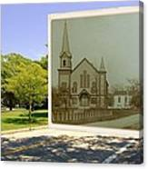 Third Methodist Church On The Commons In Little Compton Rhode Island Canvas Print